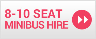 8-10 Seater Minibus Hire Scarborough
